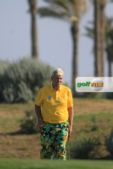 John Daly (USA) on the 16th on Day 2 of the 2012 Sicilian Open at Verdura Golf and Spa Resort, Sicily, Italy...(Photo Jenny Matthews/www.golffile.ie)