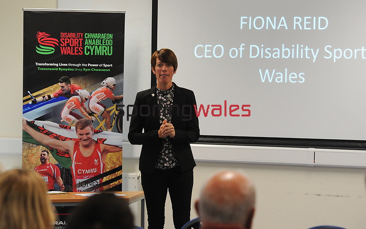 Disability sport Wales - UIWC  - Cardiff - Friday 08th September 2017 - Wales <br /> <br /> ©www.sportingwales.com - Please Credit: Ian Cook - Sportingwales