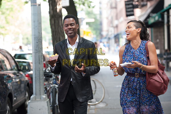 Chris Rock, Rosario Dawson<br /> in Top Five (2014) <br /> *Filmstill - Editorial Use Only*<br /> CAP/FB<br /> Image supplied by Capital Pictures