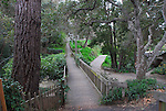 Bridge to Rose Cottage in Carmel, Del Monte Forest