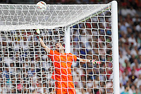 Iker Casillas of Real Madrid during La Liga match between Real Madrid and Atletico de Madrid at Santiago Bernabeu stadium in Madrid, Spain. September 13, 2014. (ALTERPHOTOS/Caro Marin)