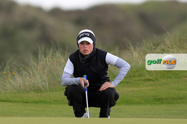 Fiona Liddell (SCO) on the 7th green during Round 3 Matchplay of the Women's Amateur Championship at Royal County Down Golf Club in Newcastle Co. Down on Friday 14th June 2019.<br /> Picture:  Thos Caffrey / www.golffile.ie