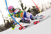 2nd February 2019, Maribor, Slovenia;  Josephine Forni of France in action during the Audi FIS Alpine Ski World Cup Women's Slalom Golden Fox on February 2, 2019 in Maribor, Slovenia