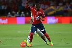Independiente Medellín venció como local 3-1 (4-5, en el global) a Deportivo Cali. Cuartos de final vuelta Liga Águila I-2017.