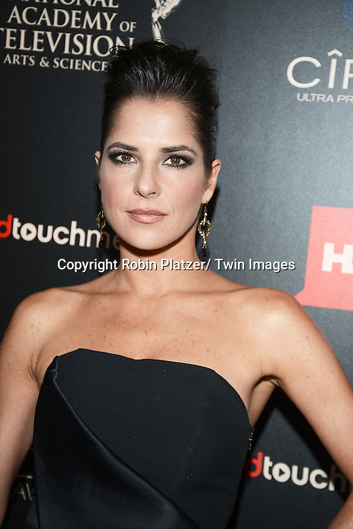 Kelly Monaco attends The 40th Annual Daytime Emmy Awards on<br />  June 16, 2013 at the Beverly Hilton Hotel in Beverly Hills, California.