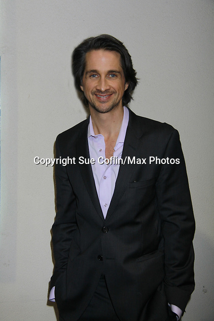 One Life To Live Michael Easton at 18th Annual Feast to benefit Center for Hearing and Communications (CHC) on October 24, 2011 at Chelsea Pier 60, New York City, New York.  (Photo by Sue Coflin/Max Photos)
