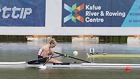 Lucerne, SWITZERLAND<br /> GBR W1X. Mathilda HODGKIN-BYRNE<br /> 2016 European Olympic Qualifying Regatta, Lake Rotsee.<br /> <br /> Monday  23/05/2016<br /> <br /> [Mandatory Credit; Peter SPURRIER/Intersport-images]