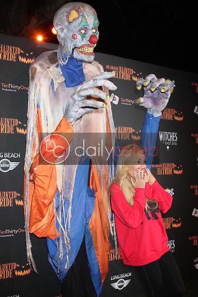 Bridget Marquardt<br /> at the 8th Annual LA Haunted Hayride Premiere Night, Griffith Park, Los Angeles, CA 10-10-13<br /> David Edwards/DailyCeleb.Com 818-249-4998