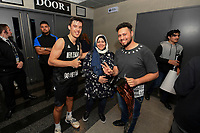 New Zealand Tall Blacks&rsquo; Derone Raukawa, FIBA World Cup Basketball Qualifier - NZ Tall Blacks v Syria at TSB Bank Arena, Wellington, New Zealand on Sunday 2 2018. <br /> Photo by Masanori Udagawa. <br /> www.photowellington.photoshelter.com