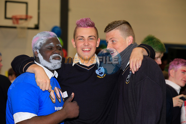 Shave or Dye in Collaiste an Ince<br /> Picture: Fran Caffrey www.newsfile.ie