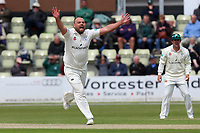 Joe Leach of Worcestershire appeals for the wicket of Ravi Bopara during Worcestershire CCC vs Essex CCC, Specsavers County Championship Division 1 Cricket at Blackfinch New Road on 11th May 2018