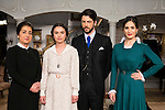 "Inma Alcantara , Giulia Charm,  Angel de Molina and Yara Puebla during the presentation of the new characters for the new season of the tv series ""El Secreto de Puente Viejo""  in Madrid, February 10, Madrid. during the presentation of the new characters for the new season of the tv series ""El Secreto de Puente Viejo""  in Madrid, February 10, Madrid."