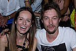 01.09.2012. Celebrities attending the Juanjo Oliva fashion show during the Mercedes-Benz Fashion Week Madrid Spring/Summer 2013 at Ifema. In the image Ana Locking and Jan Cornet .(Alterphotos/Marta Gonzalez)