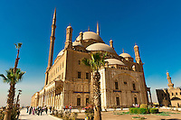 Mosque of Muhammad Ali, The Citadel, Old Cairo (Islamic Cairo), Cairo, Egypt