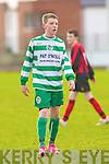 Conor Keane Killarney Celtic (Pink  Panther) look at his boots
