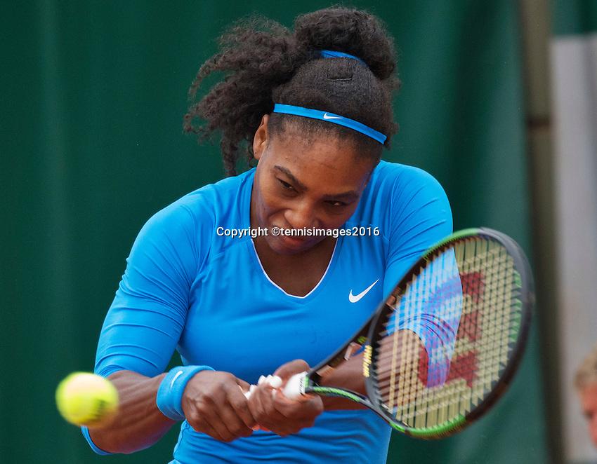 Paris, France, 29 June, 2016, Tennis, Roland Garros, Serena Williams (USA)<br /> Photo: Henk Koster/tennisimages.com