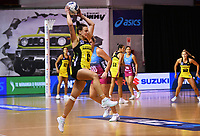 4th July 2020, Auckland, New Zealand;  Claire Kersten.<br /> Central Pulse versus Southern Steel. ANZ Premiership Netball. Auckland Netball Centre, Saturday 4 July 2020.