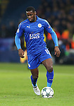 Leicester's Jeff Schlupp in action during the Champions League group B match at the King Power Stadium, Leicester. Picture date November 22nd, 2016 Pic David Klein/Sportimage