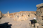 Jordan, Jerash. The South Tetrakionia&amp;#xA;<br />