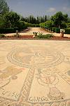 Israel, Tel Aviv. A mosaic in Hayarkon park