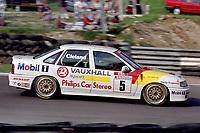 Round 10 of the 1991 British Touring Car Championship. #5 John Cleland (GBR). Vauxhall Sport. Vauxhall Cavalier.