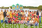 The Killarney Hindu Cultural organisation celebrates the Durga Puja festival in Ross Castle on Monday .