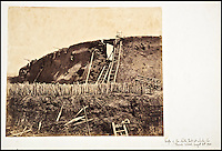 BNPS.co.uk (01202 558833)<br /> Pic: Reeman&amp;Dansie/BNPS<br /> <br /> The Angle of North Fort at which the French entered August 21, 1860.<br /> <br /> Rare photos showing some of the precious antiques looted from China's Summer Palace 156 years ago which Asian millionaires are today buying back in their droves have come to light.<br /> <br /> The images, taken by celebrated photographer Felice Beato soon after the theft, depict Ming vases, pots and bowls made for the Chinese emperor to display at the Imperial palace in Peking.<br /> <br /> The mystical building was partially destroyed by the British and French and its wealth of contents seized and taken to Europe at the end of the Second Chinese Opium War in 1860.<br /> <br /> The beautiful pieces of porcelain are the very objects the newly-rich Chinese are paying British auction houses millions of pounds for now as they attempt to buy back their lost heritage.