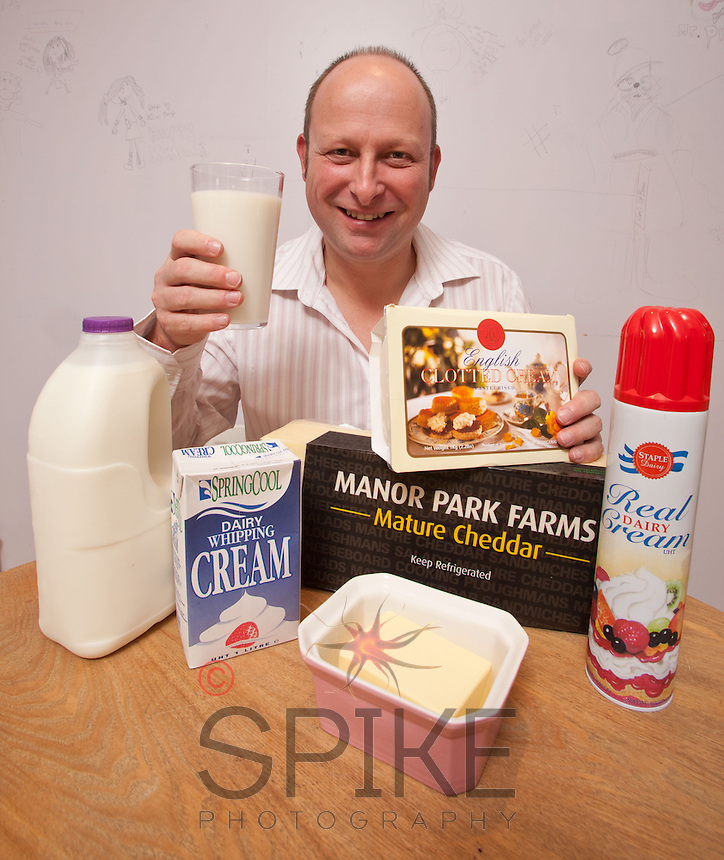 Lecestershire's The Dairy Trader Rob Cross