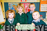2 + 2: New junior infants who started school at Dromerin NS last week were Fiona Galvin, Mary O'Connor, Conor Fitzgerald and Sammy Enright.