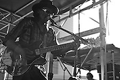 September 4, 2010. Raleigh, North Carolina..Chuck Brown took over Fayetteville Street with his Go-Go tunes.