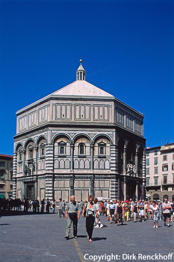 Baptisterium San Giovanni, Florenz, Toskana, Italien, Unesco-Weltkulturerbe