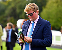 Assistant Trainer Freddie Meade during Evening Racing at Salisbury Racecourse on 3rd September 2019