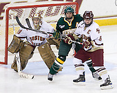 Corinne Boyles (BC - 29), Celeste Doucet (Vermont - 12), Tracy Johnson (BC - 5) - The University of Vermont Catamounts defeated the Boston College Eagles 5-1 on Saturday, November 7, 2009, at Conte Forum in Chestnut Hill, Massachusetts.