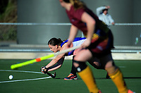Action from the National Senior Women's Hockey Tournament match between Canterbury and Southland at National Hockey Stadium in Wellington, New Zealand on Thursday, 20 September 2018. Photo: Dave Lintott / lintottphoto.co.nz