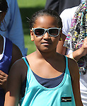 Sasha Obama attends the 2011 White House Easter Egg Roll in Washington D.C. April 25, 2011..Copyright EML/Rockinexposures.com.
