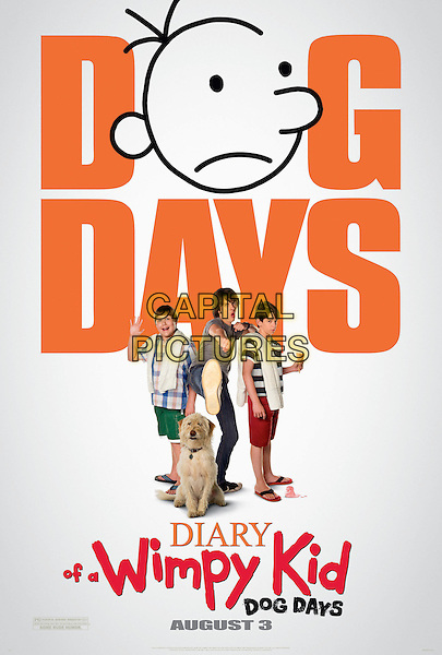 POSTER ART.in Diary of a Wimpy Kid: Dog Days (2012).3.*Filmstill - Editorial Use Only*.CAP/FB.Supplied by Capital Pictures.