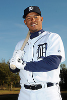 Feb 21, 2009; Lakeland, FL, USA; The Detroit Tigers infielder Ramon Santiago (39) during photoday at Tigertown. Mandatory Credit: Tomasso De Rosa/ Four Seam Images