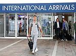 08.08.18 FK Maribor arrive at Glasgow airport: Gregor Bajde