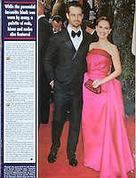Hello Magazine<br /> Natalie portman &amp; Benjamin Millepied by GDG<br /> 41013<br /> tearsheet