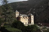 Hotel Restaurant Chateau de la Caze at Lozer in France