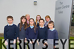 Killahan NS at the Final of Primary school Debating competition in the Tralee Education Centre on Monday. Pictured front Jack Hannon, Shauna Fitzgerald Scalon, Grace O'Hara Packer, Ethan Dowling, Even Knight Back  Mary Nolan, Leah Brennan, Bríd Leonard (teacher)