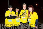 l-r  Celia Keane, Jackie Traynor, Jerry Traynor and Nicole Traynor.  at the Darkness Into Light Tralee at CBS the Green on Saturday