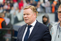 Guimaraes, Portugal - Thursday, June 6, 2019: Manager Ronald Koeman before the match. Netherlands beat England 3-1 in overtime to reach the final of UEFA Nations League 2019 at D. Afonso Henriques Stadium in Guimaraes.