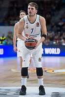 Crvena Zvezda Luka Doncic during Turkish Airlines Euroleague match between Real Madrid and Crvena Zvezda at Wizink Center in Madrid, Spain. December 01, 2017. (ALTERPHOTOS/Borja B.Hojas) /NortePhoto.com NORTEPHOTOMEXICO