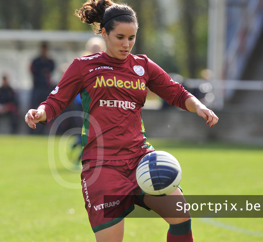 Dames Zulte Waregem : Pauline Crammer.foto DAVID CATRY / Vrouwenteam.be