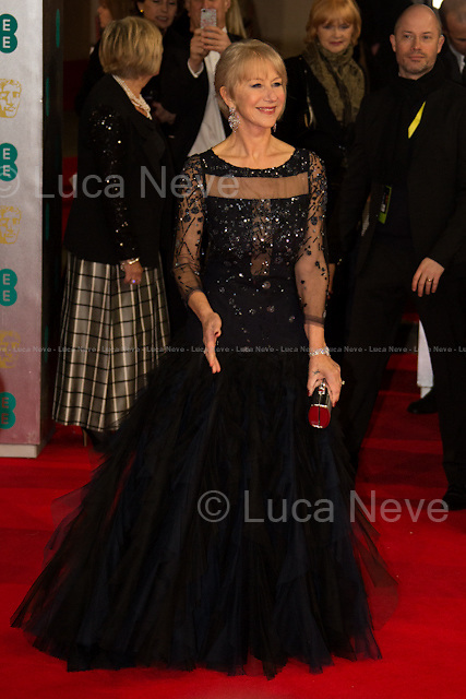 Dame Helen Mirren (Actress, BAFTA Fellowship Award winner).<br />