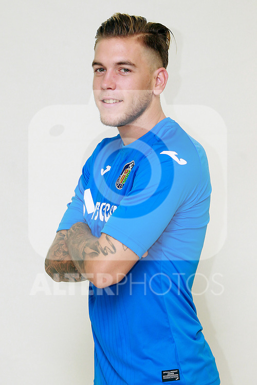 Getafe CF's Alvaro Jimenez during the session of the official photos for the 2017/2018 season. September 19,2017. (ALTERPHOTOS/Acero)