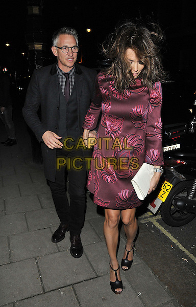 LONDON, ENGLAND - FEBRUARY 04: Gary Lineker &amp; Danielle Lineker attend the InStyle Best of British Talent party to celebrate the EE BAFTA Film Awards later this month, Dartmouth House, Charles St., on Tuesday February 04, 2014 in London, England, UK.<br /> CAP/CAN<br /> &copy;Can Nguyen/Capital Pictures