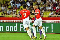 Kylian Mbappe Lottin (AS Monaco) - Radamel Falcao (AS Monaco)<br /> 04-08-2017 <br /> Monaco - Toulouse <br /> Calcio Ligue 1 2017/2018 <br /> Foto Scanella/ Panoramic/Insidefoto