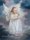 CHILDREN, KINDER, NIÑOS, paintings+++++,USLGSKPROV18,#K#, EVERYDAY ,Sandra Kock, victorian ,angels